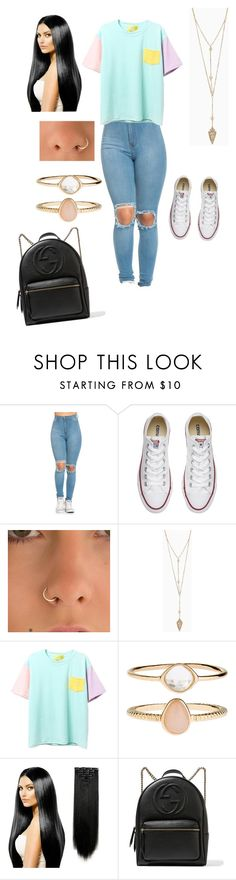 """""""School collection"""" by lovely-leah-leah ❤ liked on Polyvore featuring Converse, Accessorize and Gucci"""