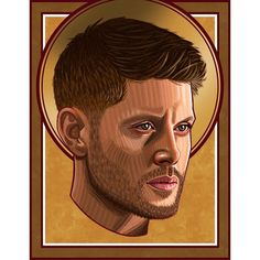 """Lauren Elder on Instagram: """"In memory of Dean Winchester ⭐️ The finale of Supernatural last week absolutely destroyed me, so I wanted to (digitally) paint a portrait of…"""" Supernatural Drawings, Dean Winchester, Portrait, Painting, Instagram, Headshot Photography, Painting Art, Portrait Paintings, Paintings"""