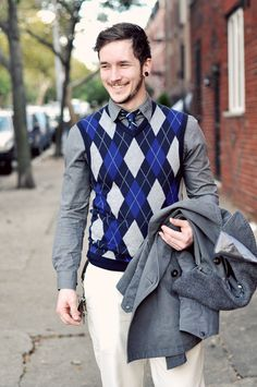 Sweater vest outfits for men - Bing Images | Cardigans For Men ...