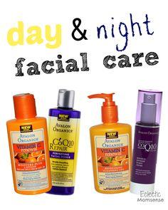 day & night facial care #sponosored