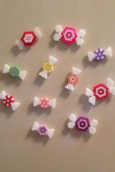 Dıy (do it yourself) - Perler beads, hama beads, bead sprites, nabbi fuse melty beads. Easy Perler Bead Patterns, Melty Bead Patterns, Perler Bead Templates, Diy Perler Beads, Perler Bead Art, Beading Patterns, Pearler Beads, Loom Patterns, Peyote Patterns