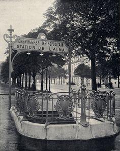 Paris France, Paris 1900, Old Paris, Paris Images, Paris Photos, Belle Epoque, Image Paris, Hector Guimard, Paris Vintage