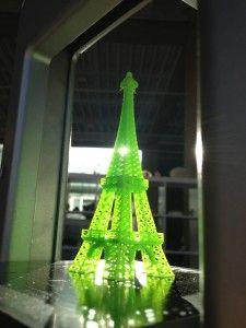 #3dprinted Eiffel Tower #paris