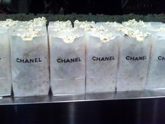 popcorn by chanel ♥ For more visit- www.These-2-Hands.com or on IG @ www.Instagram.com/These2Hands2012 ♥