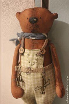 Пряничный мишка Савелий - коричневый,мишка,мишка в подарок,ароматизированная игрушка