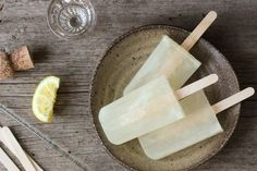 FRENCH 75  Probably the classiest popsicle you'll ever have. Unless you substitute the Champagne for prosecco. We won't judge.  Serves 6  360ml Champagne  120ml gin  120ml sugar syrup  90ml lemon juice  Combine all the ingredients (mind the fizz!!!) then pour into moulds. Now you've just gotta wait for these posh pops to freeze…