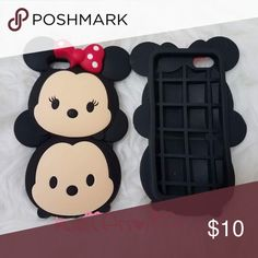 iPhone Disney tsum tsum case Brand new Disney Mickey Minnie Tsum Tsum Case soft silicone rubber case Accessories Phone Cases