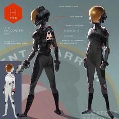 Concept - Abigail's suit.