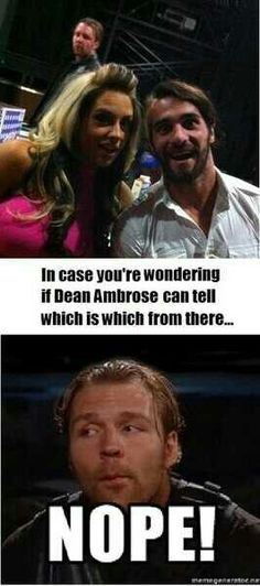 I like how Dean appears more than once in this Wrestling Quotes, Watch Wrestling, Wrestling Stars, Wrestling Wwe, Le Shield, The Shield Wwe, Wwe Birthday, Wwe Funny, Savage Life
