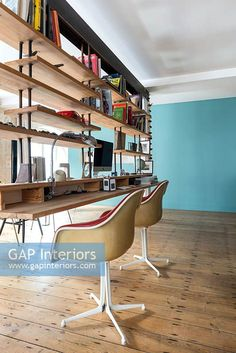 Modern office Contemporary Home Offices, Contemporary Style, Modern Philosophers, Office Images, Study Space, Interior Photography, Change, Desk, Stock Photos