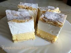 Receptek, és hasznos cikkek oldala: Felhő szelet Cornbread, My Recipes, Cheesecake, Sweets, Ethnic Recipes, Food, Millet Bread, Gummi Candy, Cheesecakes