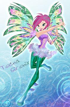 Winx club 5 season Tecna Sirenix by fantazyme.deviantart.com on @deviantART #WinxClub