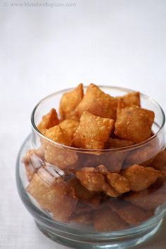 Karam Kajalu Recipe - Savory Diamond Cuts - Easy Diwali Snacks Recipes | Indian Cuisine