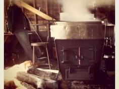 Sugar shack to make my own Maple syrup, nice evaporator