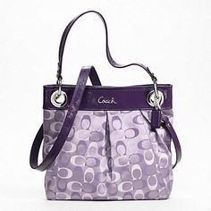 Low cost real Coach handbags, all models of Coach purses and handbags at cheap rates. Shop many brands of designer purses and handbags at cheap prices. Coach Bags Outlet, Cheap Coach Bags, Coach Handbags, Purses And Handbags, Purple Handbags, Purple Purse, Handbags Online, Fendi, Gucci