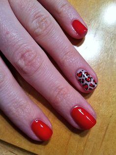 Pinterest inspired valentines nails