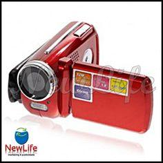 DC 08 de 1.8'' LCD 1.3MP Câmara Digital Compata com zoom digital 4x  33,99€