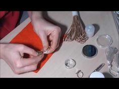 Мастер класс Кольцо из сутажа - YouTube
