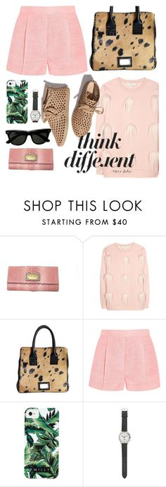 """""""Think different"""" by punnky ❤ liked on Polyvore featuring STELLA McCARTNEY, Loeffler Randall, Milly and J.Crew"""