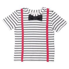 Trendy and eccentric clothing for fashionistas over 2 years old, from Scandinavian and international fashion brands. The perfect outfit for every girl. Striped Jersey, International Fashion, Short Sleeve Tee, Fashion Brands, Kids Fashion, Tees, T Shirt, Clothes, T Shirts