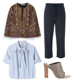 """Untitled #108"" by e44tar ❤ liked on Polyvore featuring TIBI, Margaret Howell, Erika Cavallini Semi-Couture and Zara"