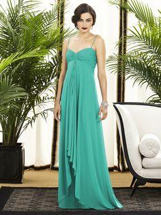 Bridesmaid Dessy Collection Style 2883 / Gypsy Boho
