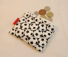 Football Fabric Coin Purse - Free P £5.00