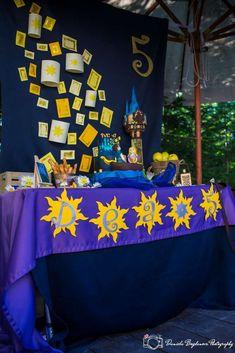 Birthday / Rapunzel / Tangled - Photo Gallery at Catch My Party Rapunzel Birthday Party, Tangled Party, Tinkerbell Party, Princess Birthday, Princess Party, Birthday Parties, Princess Sophia, Tangled Rapunzel, 4th Birthday