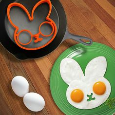 Fried Egg Mold, Cute Silicone Bunny - The Dad Guy