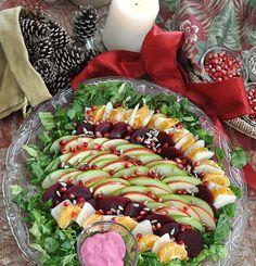 Ensalada de Nochebuena – Christmas Eve Salad - Hispanic Kitchen