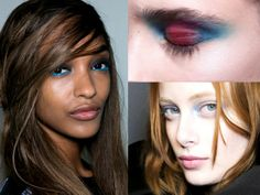 Blue Eye Makeup Fall 2014 Trends
