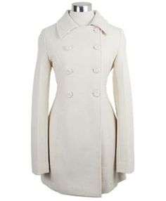 Pea Coat. :) Tho im kidding myself that i could actually wear cream or white..im too messy for light colours..