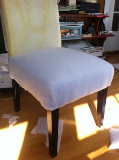 Diy Upholstered Dining Chairs diy: re-upholster your parsons dining chairs (tips from a pro