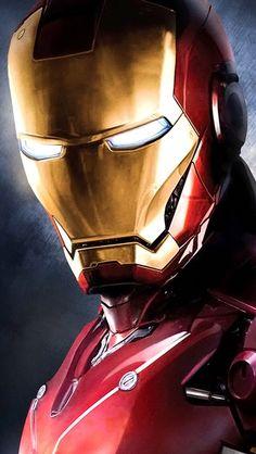 Serious Iron Man look