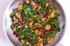 Fusilli with Spinach, Artichokes, Sun-Dried Tomatoes Fusilli Pasta Recipe, Pasta Recipes, Chicken Recipes, Dinner Recipes, Cooking Recipes, Heart Healthy Recipes, Healthy Meals, Vegetarian Pasta Salad, Vegan Recipes Plant Based