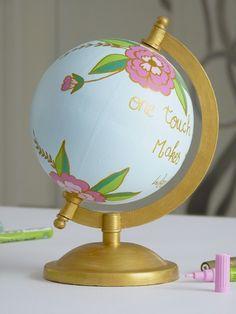 customiser un globe