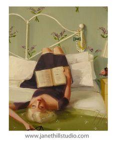 Französischer Flieder. Figurative Kunstdruck von janethillstudio, $26.00