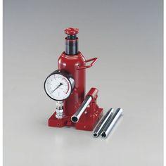 エスコ 10ton油圧ジャッキ(圧力計付) EA993BRー10 1台 EA993BRー10 (取寄品)