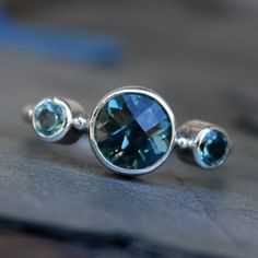 Hey, I found this really awesome Etsy listing at https://www.etsy.com/listing/167732984/midnight-blue-topaz-ring-london-blue