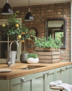 The Most Popular Small Kitchen Ideas - Decorating Solutions for Your Kitchen . - Most Popular Small Kitchen Design Ideas – Decorating Solutions for your Kitchens … - Farmhouse Kitchen Cabinets, Farmhouse Style Kitchen, Modern Farmhouse Kitchens, Kitchen Cabinet Design, Kitchen Countertops, Country Kitchen, Cool Kitchens, Farmhouse Sinks, Rustic Farmhouse
