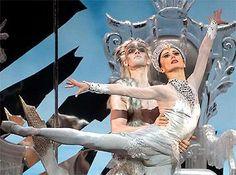 Skating Balletic Ballet of the Spiritual Snow Queen.