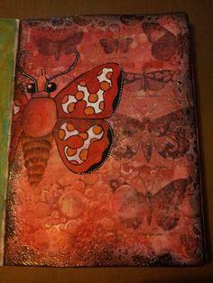 Red butterfly.  Miranda Bosch - Thurlings