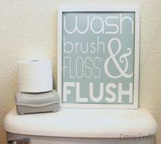 40 Fabulously Free Bathroom & Laundry Room Printables