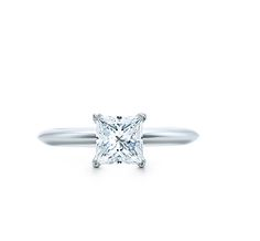 "My ""perfect"" ring. Simple Princess cut. One diamond."
