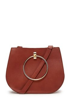 Faux Leather Crossbody (also in black) $28