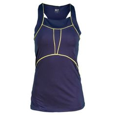 Tail Women`s Shine On Mar Racerback Tennis Tank Navy Blue Xsmall by Tail. $55.00. The Tail Womens Shine On Mar Racerback Tennis Tank features a 25 length for added coverage and a flattering squared neckline Lightweight performance jersey provides moisture management and SPF 40 protectionFabric 87 Polyester 13 SpandexColor Navy Blue