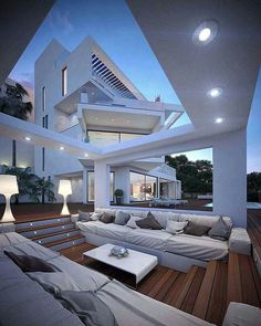 White Residence by Grand Design Javea  Instagram.com/amazing.architecture