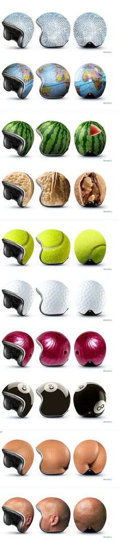 Creative helmets - reddot design award best of the best 2011