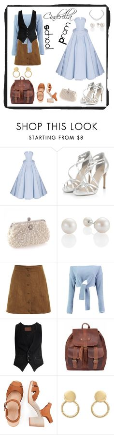 """Cinderella casual & formal"" by misszizzentyu ❤ liked on Polyvore featuring Christian Siriano, Harry Winston, Boohoo and Rockins"