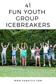 Looking for youth group icebreakers? Here you will find 41 of the most entertaining youth group icebreakers available. These icebreakers Fun Youth Group Games, Icebreaker Games For Kids, Icebreakers For Kids, School Games For Kids, Youth Group Rooms, Youth Ministry Games, Youth Group Lessons, Youth Activities, Fun Games For Kids